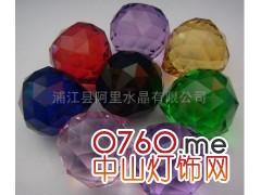 供应30毫米机磨灯饰球,水晶球,水晶吊球