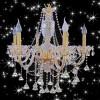 广东中山市高档水晶灯,现代平板低压灯最新款蜡烛灯