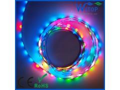 CS1808 30灯幻彩灯带内置33种效果 单点单控 车灯