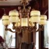 玉石灯具 全铜玉石吊灯 青玉玉石灯 白玉玉石灯饰