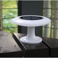 太阳能飞碟蘑菇遥控多效果RGB产品景观庭院灯饰花园草地