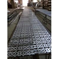 铝板切割加工 铝板镂空屏风水切割加工