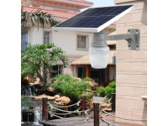 太阳能苹果灯桃子灯户外防水新农村小区公园别墅LED景观庭