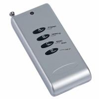 LED灯具遥控器 433M银色千米四键遥控器