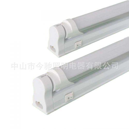 实力商家ledT8铝塑灯管日光灯管高亮灯珠配支架型灯管铝材款条形