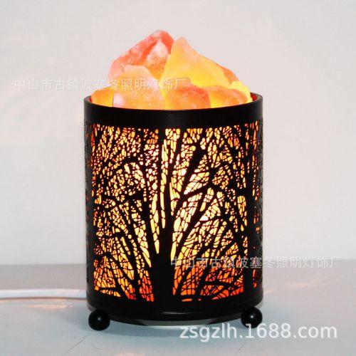 喜马拉雅盐灯 小夜灯 改善空气 空气净化 盐灯喜马拉雅 水晶盐灯