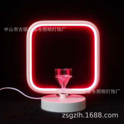 跨境亚马逊fragrance lamp美式香薰灯 创意led家用礼品装饰小夜灯