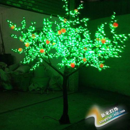 LED果树/景观灯 果子超逼真 行业低价促销 欢迎订购。