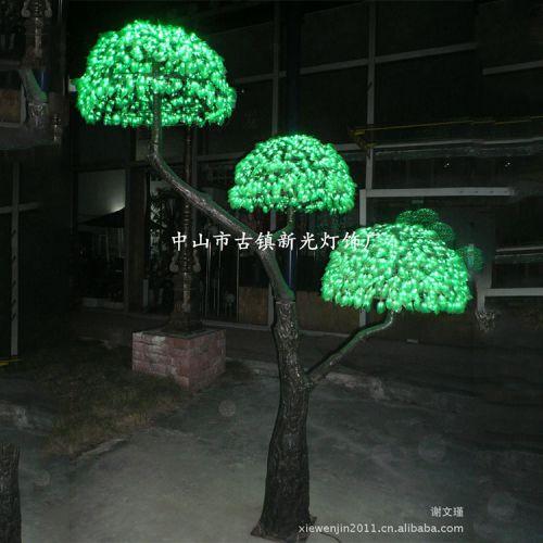 厂家低价直销 供应LED富贵树灯,添加柔性、抗老化、防紫外材质。