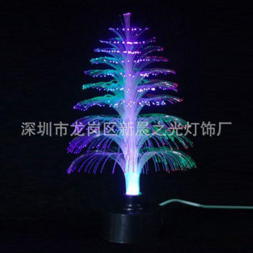 水母灯led光纤灯户外防水创意景观灯亮化工程街道商场装饰七彩变