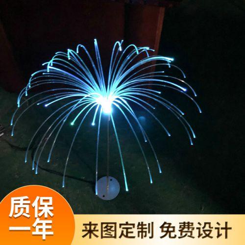 供应led七彩芦苇灯装饰景观灯 防水庭院创意仿真芦苇插地灯景观灯