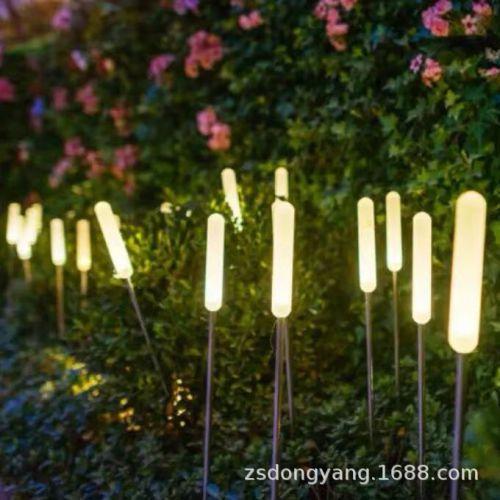 LED气泡棒芦苇灯亚克力磨砂棒插地景观灯亮化工程装饰照明庭院灯