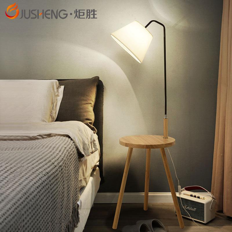 炬胜客厅落地灯个性卧室立式台灯 客厅卧室书房网红北欧落地台灯
