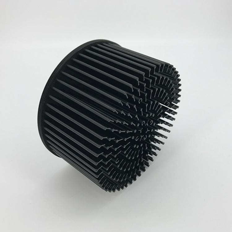 厂家直销112mm 30W50W冷锻散热器COB射灯天花灯LED散热器定制加工
