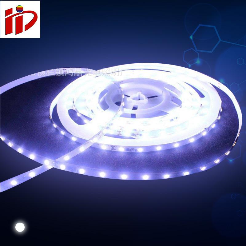 12V低压灯带 白光6500K 120led/米 9W/米 工厂直销 可来样定制