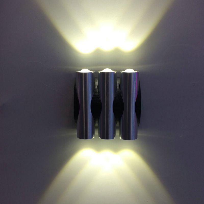 led创意壁灯6w双头上下出光走廊过道墙灯床头灯背景墙装饰灯现代