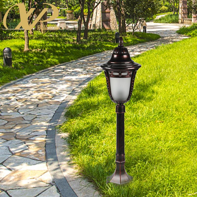 欧式户外草坪灯加厚防水防锈草地灯景观庭院灯过道草坪灯落地灯