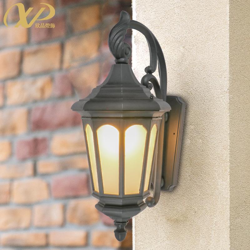 户外壁灯室外防水庭院大门灯花园围墙中式别墅露台LED灯阳台壁灯