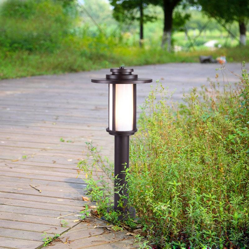 led草坪灯现代简约户外防水小区别墅公园庭院灯室外草地灯批发