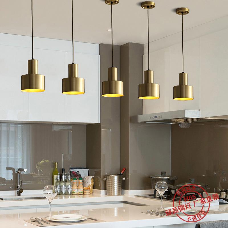 北欧餐厅小吊灯创意个性灯饰吧台三头吊灯现代简约床头灯饰网红