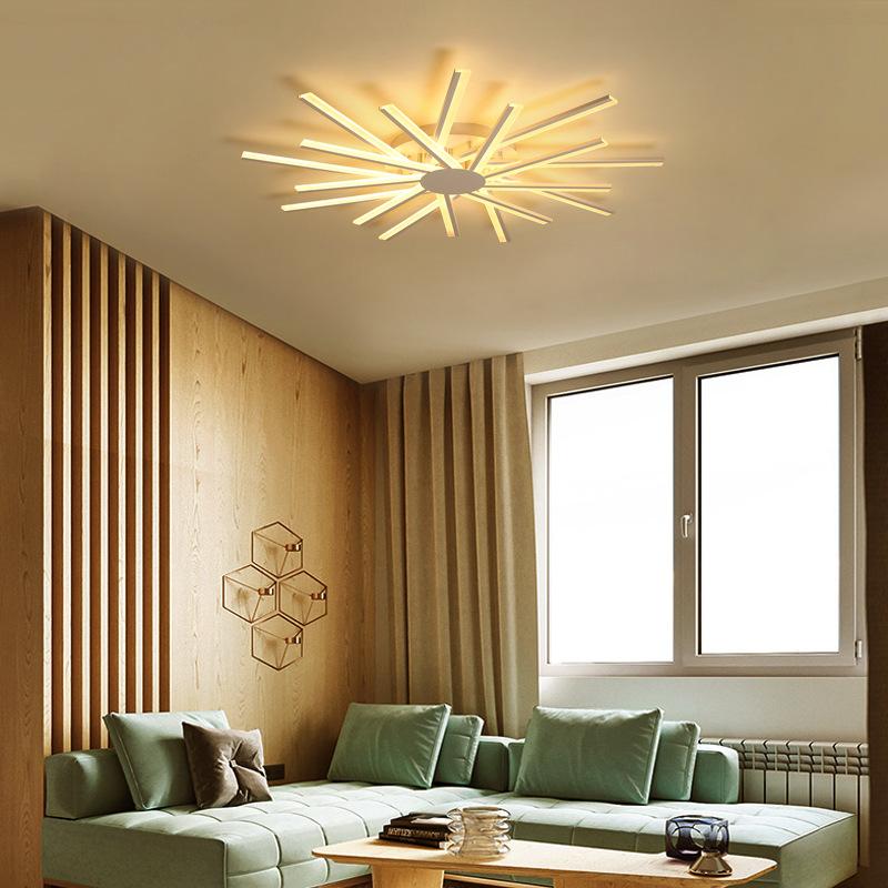 新款客厅灯 简约现代大气家用led吸顶灯后现代亚克力卧室书房灯具