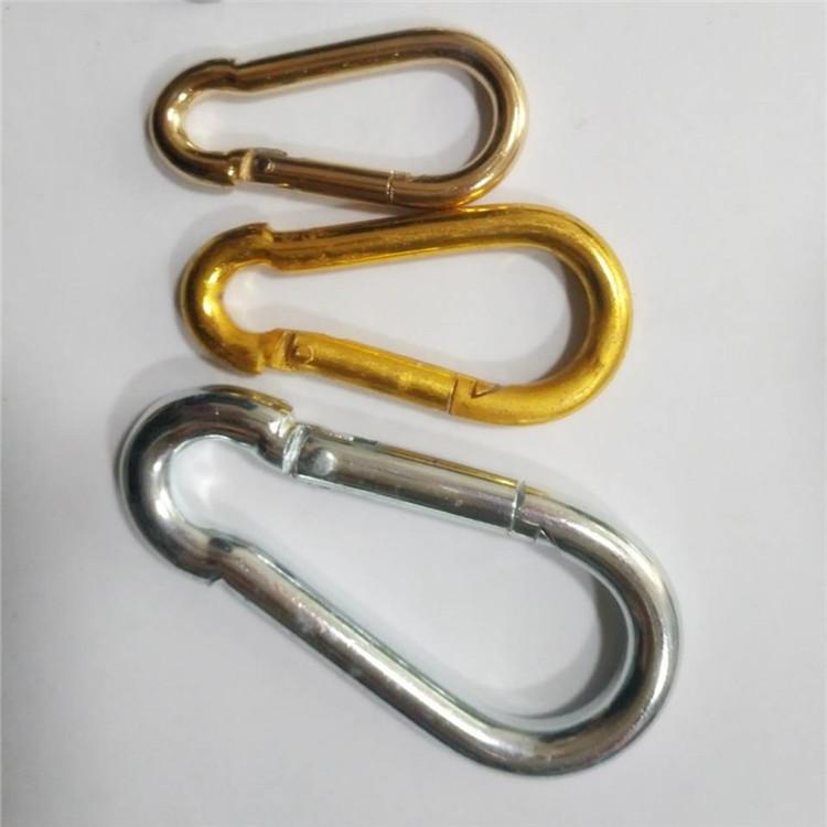 王建五金 6*60 铁质 弹簧扣 登山扣 钩量大从优 非标定做