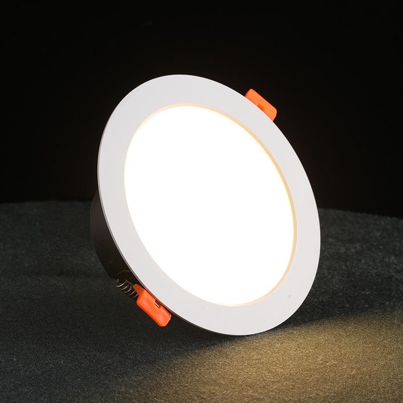 led筒灯3w5w白色吊顶开孔7-9cm天花灯过道嵌入式洞灯客厅射灯