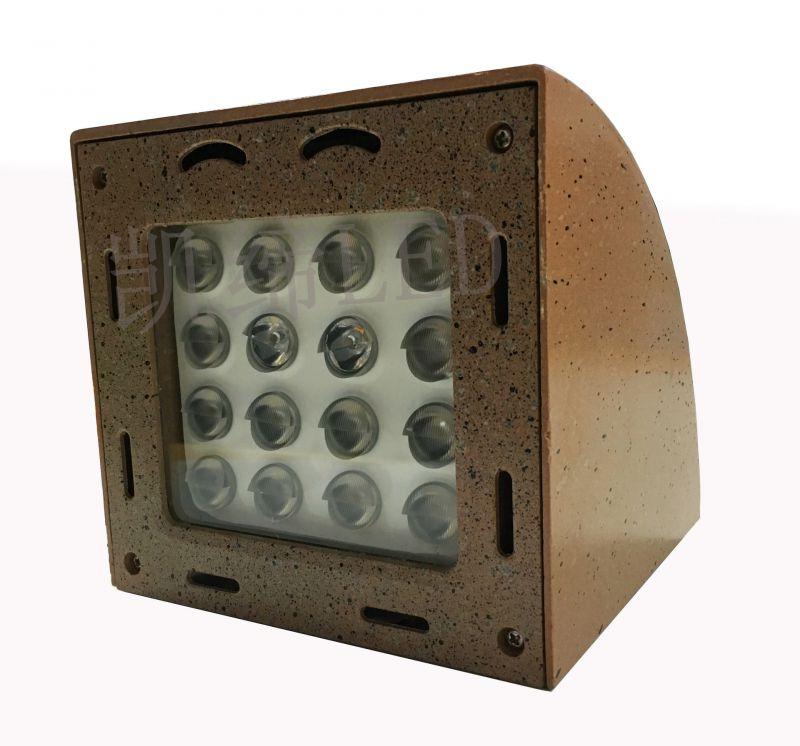 LED弧形壁灯方形壁灯工程非标户外壁灯9W18W24W订制壁灯