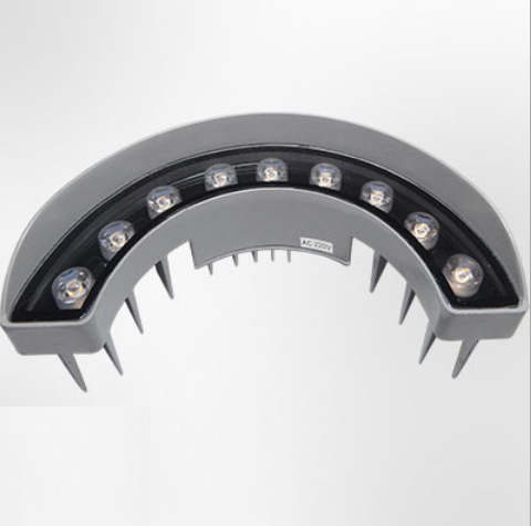 LED瓦楞灯9w12w 屋顶瓦片灯 屋顶古建筑 户外亮化工程射灯