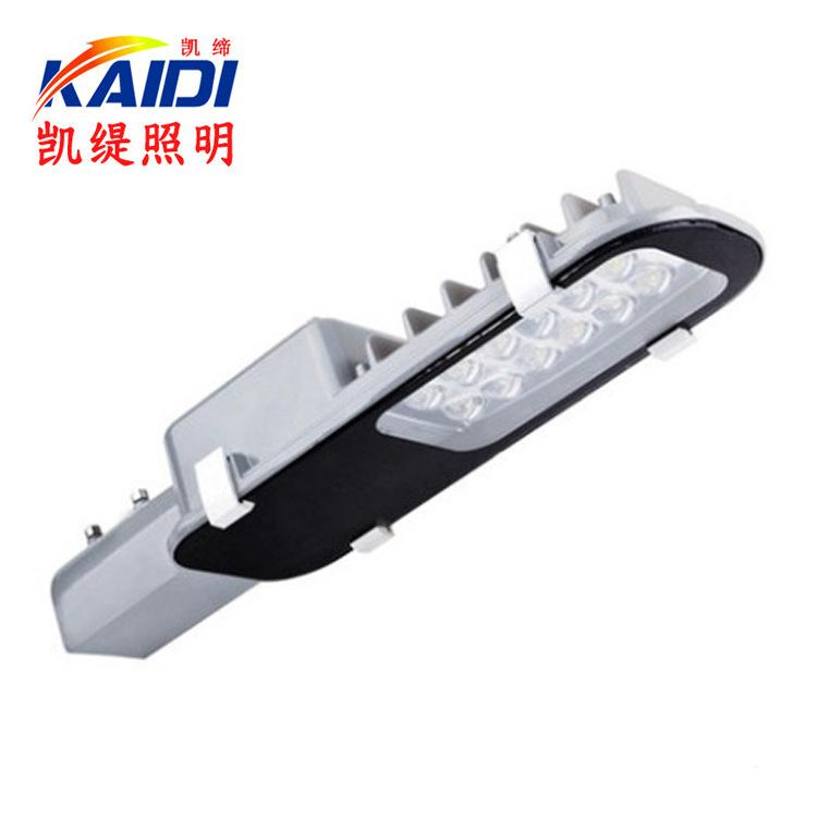 LED路灯头12W30w40w50W60W80W小金豆路灯太阳能平板牙刷路灯 挑臂