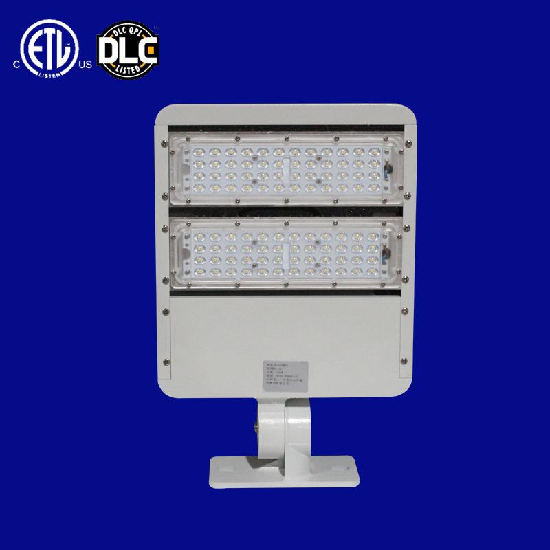 LED户外防水投光灯100w150w200w调角度ETL DLC模组大功率投光灯
