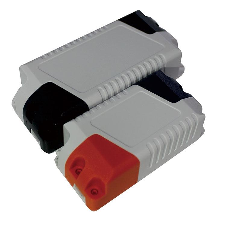 厂家供应LED驱动电源塑胶外壳LED电源塑胶盒端盖免螺丝SA-25C