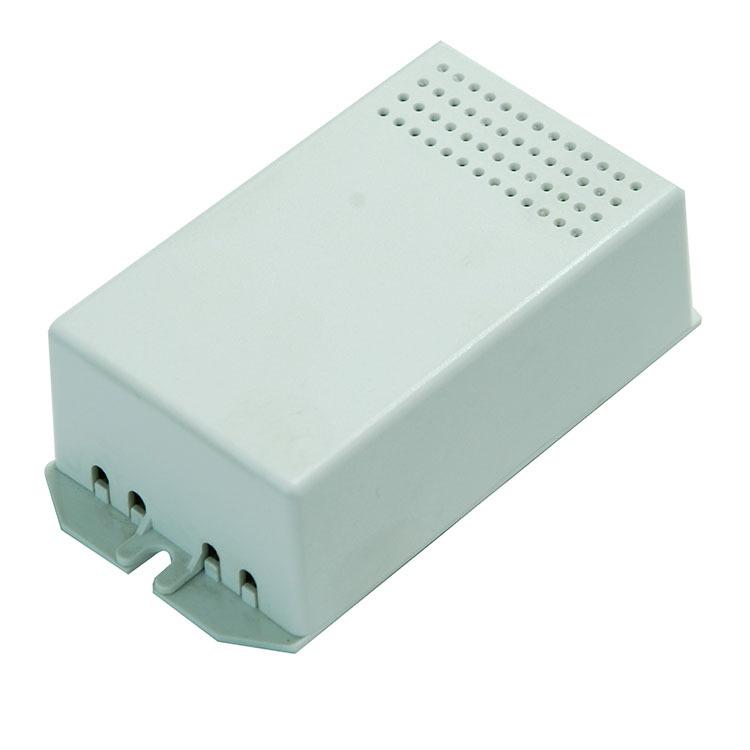 厂家直销新款LED电源散热PC塑料外壳阻燃长方体盒子乳白色SA-7
