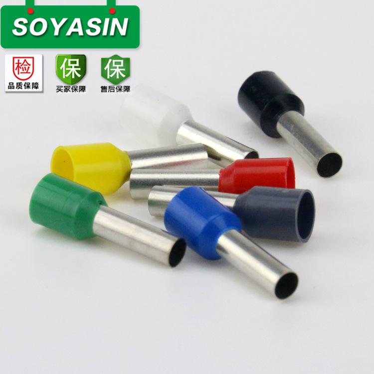 【生产】VE6012管形预绝缘端头 针式端子 针管型冷压端子 阻燃