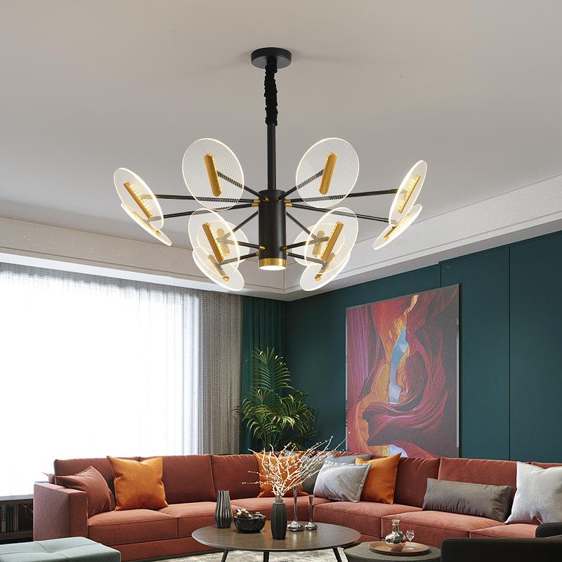 简约后现代个性创意客厅卧室书房餐厅灯大气轻奢北欧家用led吊灯