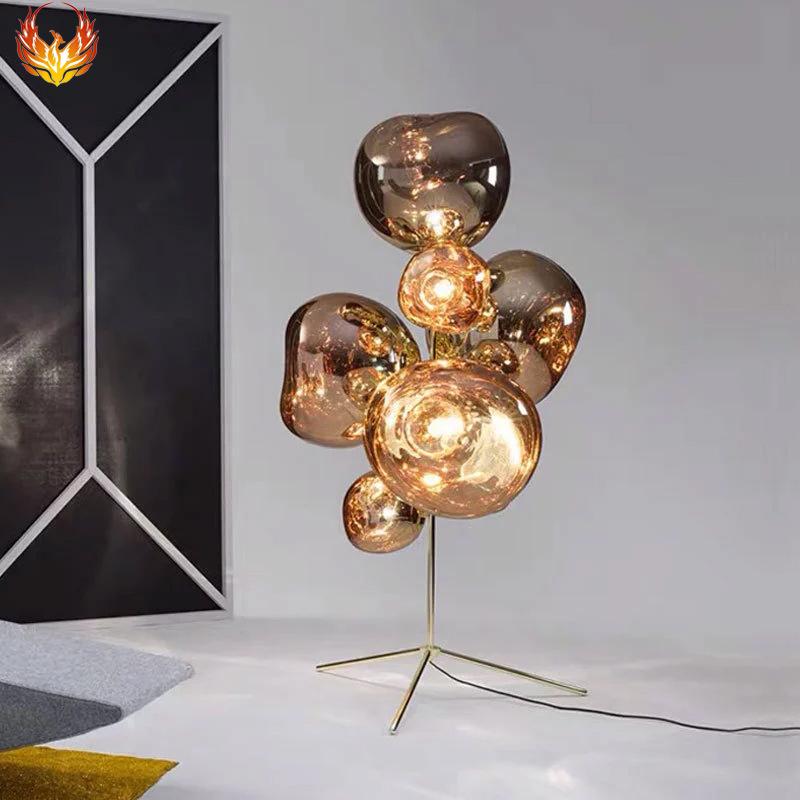 北欧客厅熔岩立式灯具 个性火山卧室装饰灯简约现代床头LED落地灯