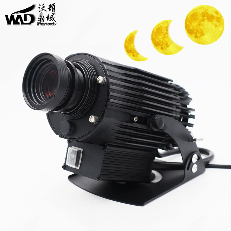 沃顿高清光影灯动态月食变化月亮灯 户外工程亮化投影灯防雨IP65