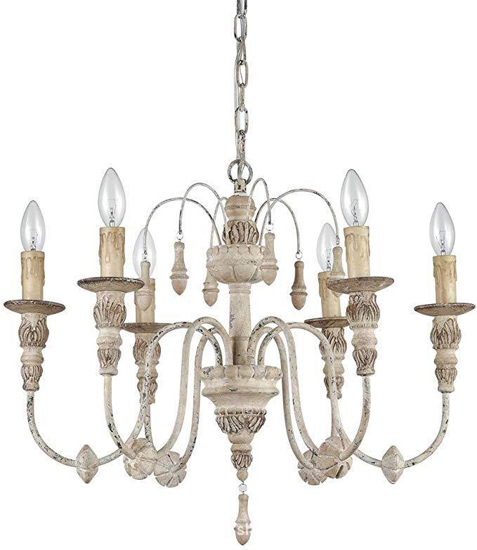 亚马逊专供法式乡村田园吊灯索伦托公主房卧室灯美式复古外贸灯具