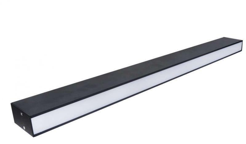 LED防眩组合射灯45头办公吊线灯明装线条射灯40W吸顶射灯厂家直销