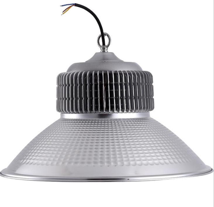新款工矿灯LED100W鳍片散热高棚灯厂房灯吊灯工厂直销