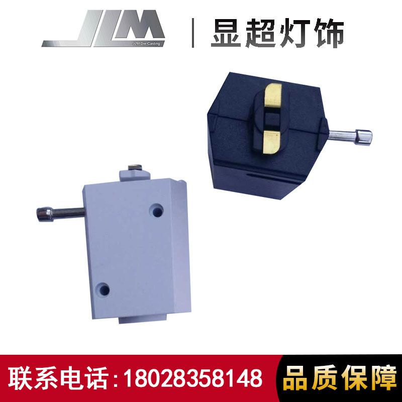 LED轨道灯二线轨道头电器盒 导轨灯轨道头批发轨道灯配件供应