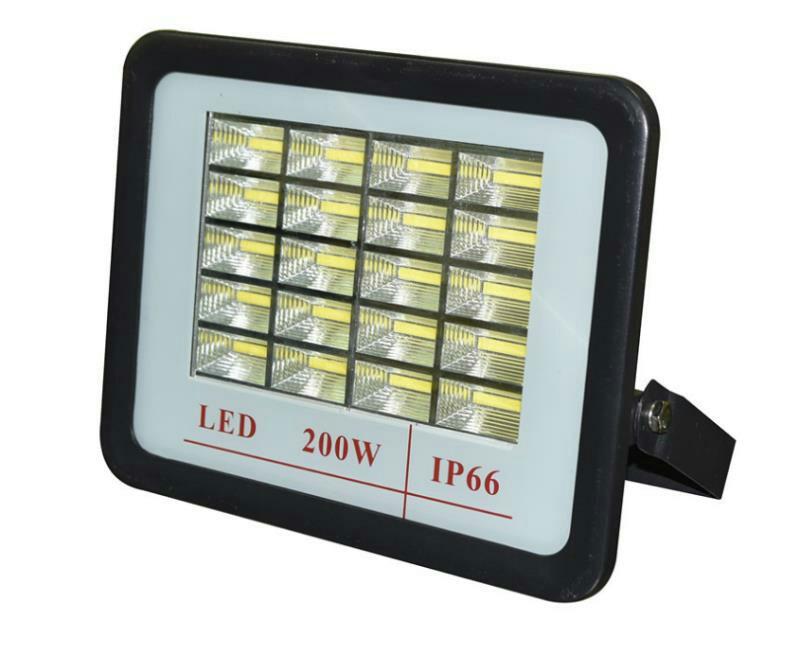 厂家直销金砖格栅LED贴片200W投射灯外壳28335贴片户外泛光灯壳