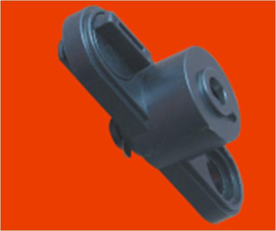 二线轨道盒LED轨道灯导轨盒 轨道电器导轨头 驱动盒 ABS材料灯具