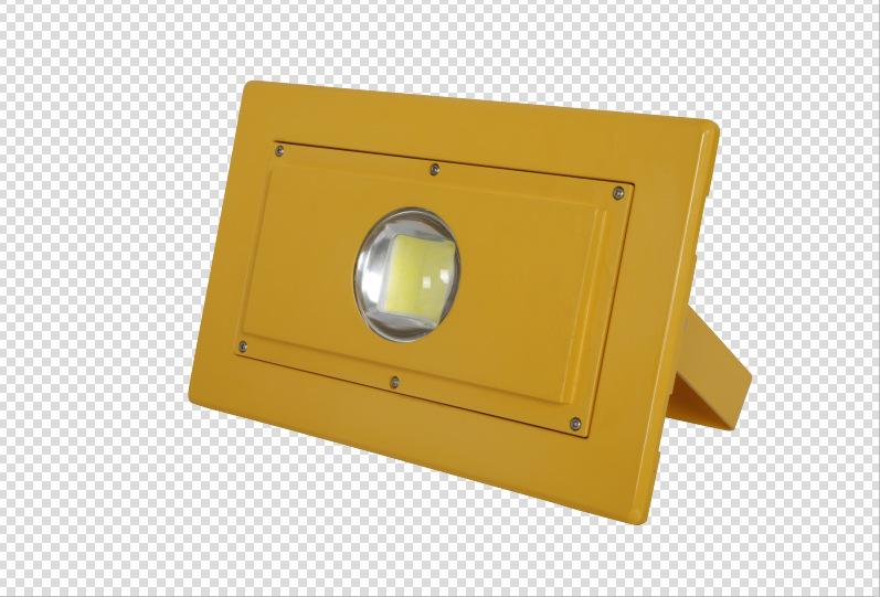 新款LED50W投光灯泛光灯台车灯防爆灯防震隧道施工灯投射灯