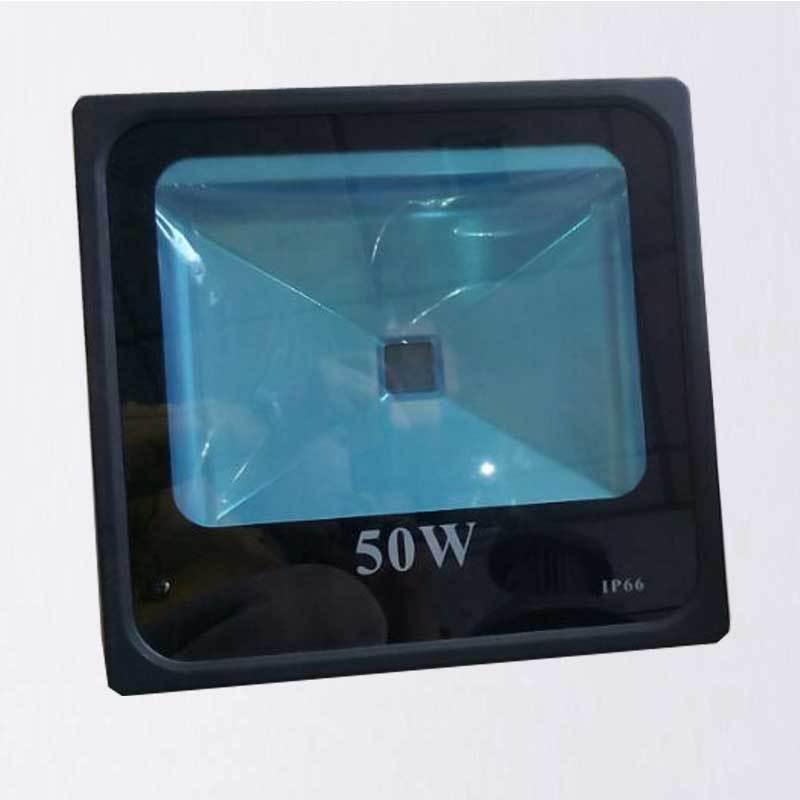 投光灯外壳压铸外壳lLED50w四方灯一体投光灯外壳套件贴片投光灯