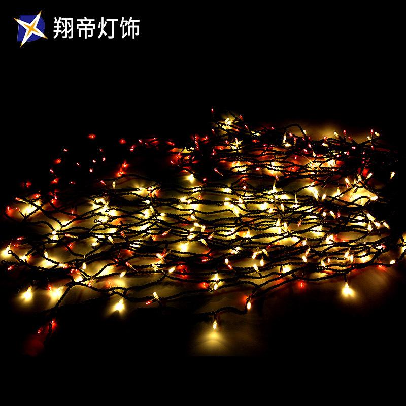 LED闪泡冰条灯变光节日装饰灯圣诞灯饰灯光节灯展装饰 灯具直销