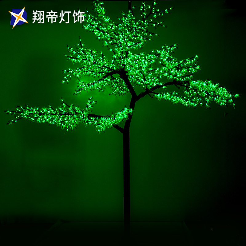 LED迎客松造型树灯户外防水灯 灯光节 商场美陈装饰灯 具厂家直销