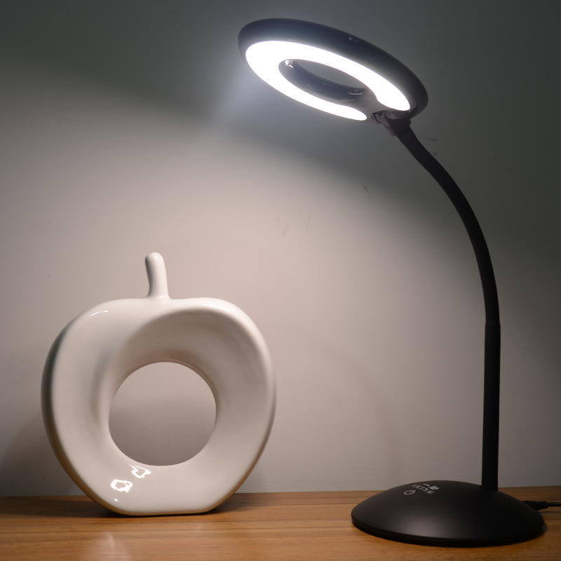 环形调光 高亮桌面工作灯 发光均匀 无频闪