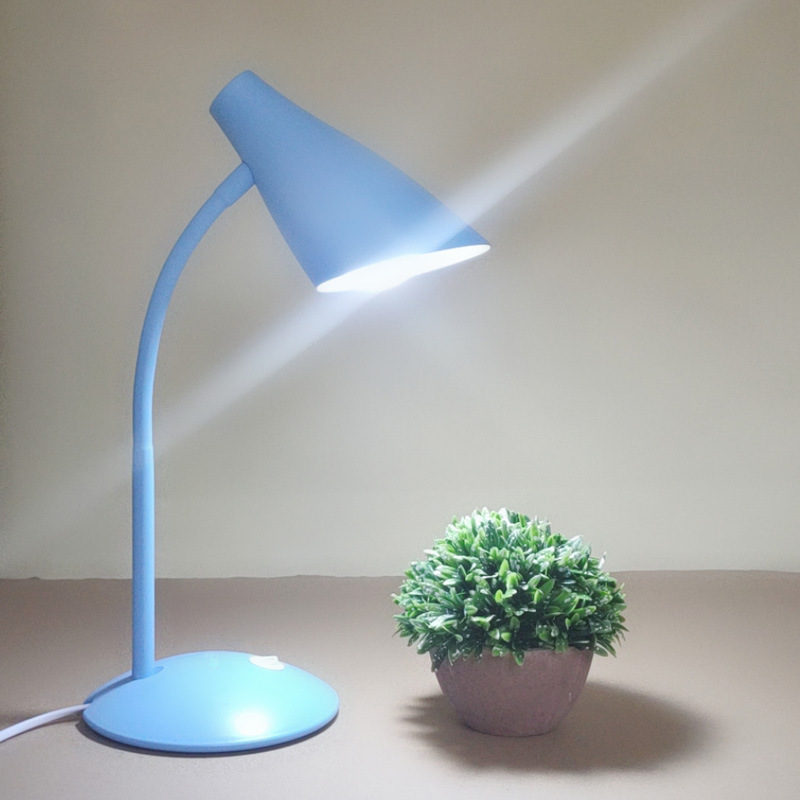 led护眼台灯  可换灯泡书桌大学生简约儿童床头学习宿舍阅读灯