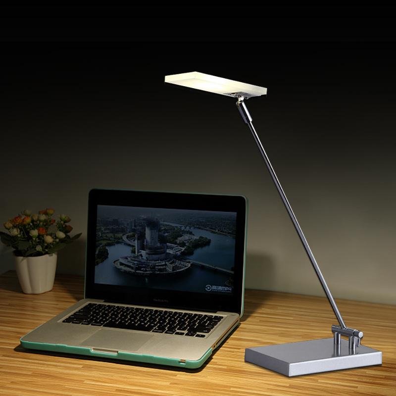 新款美式LED折叠金属台灯出口 洒店办公床头护眼阅读台灯贴牌